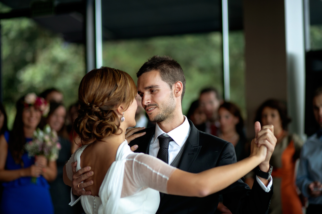 Marta y javier boda en bilbao - Paredero quiros bilbao ...