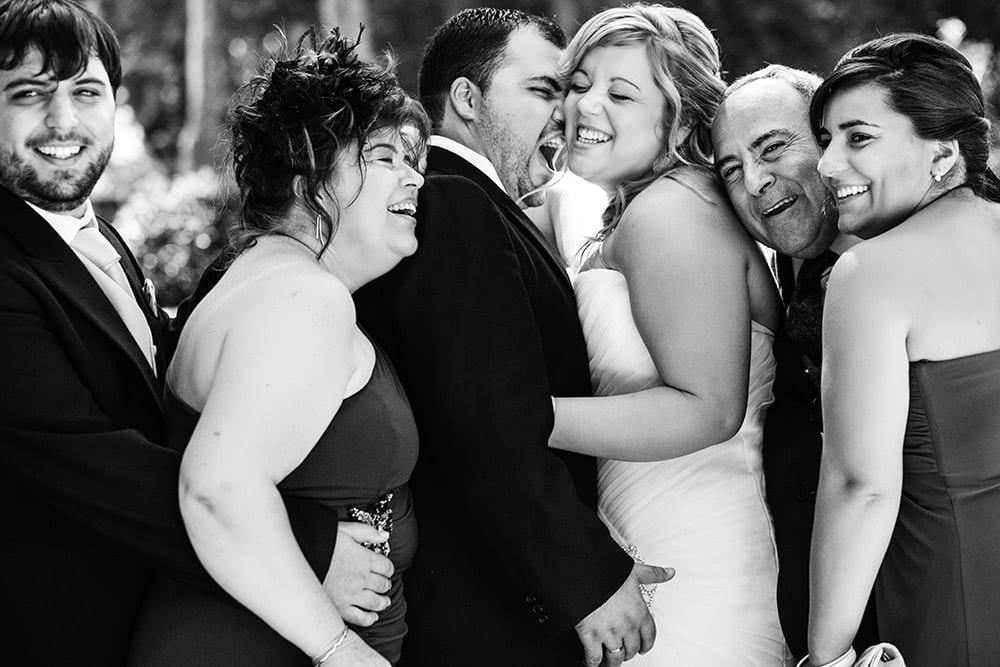 Fotos de familia en las bodas