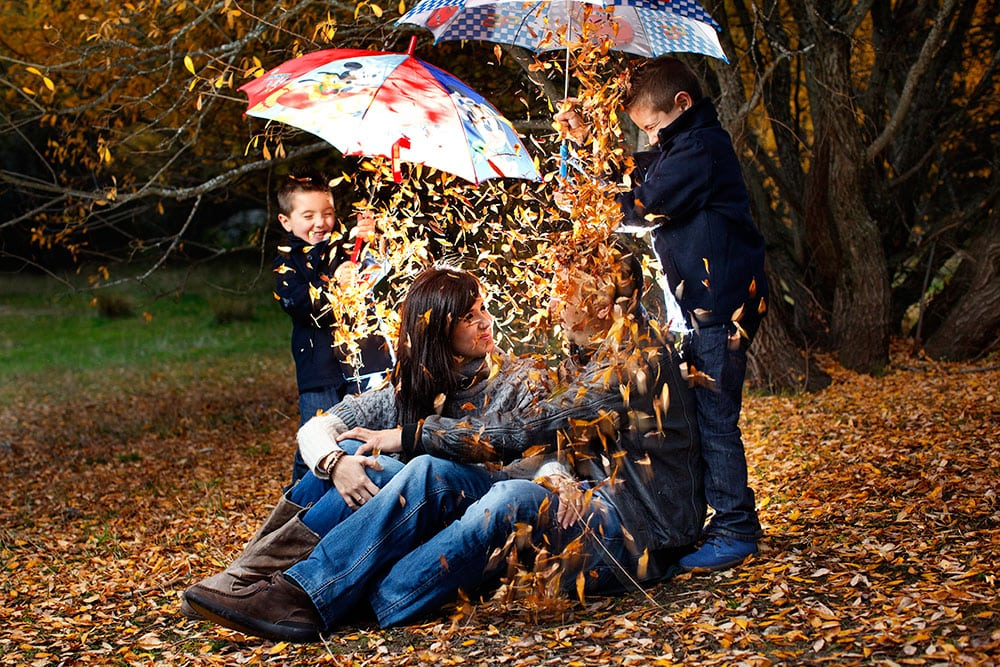 Reportaje fotográfico de niños y familia en Madrid