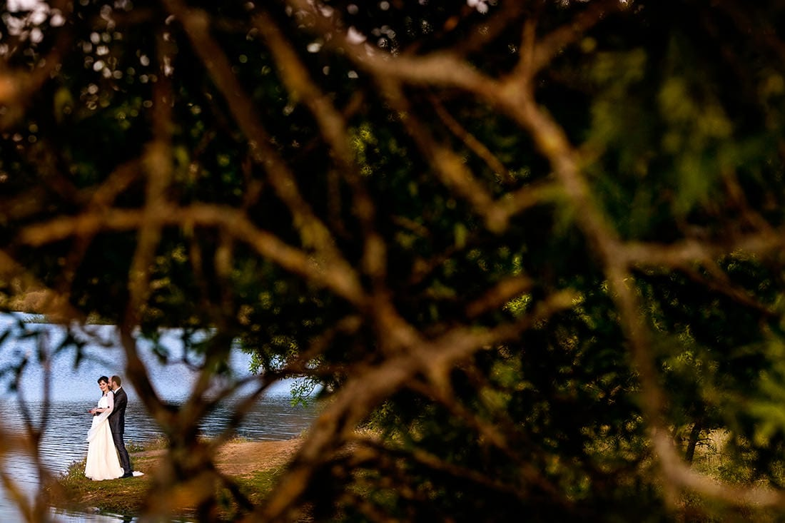 Boda en jardín el botero Madrid