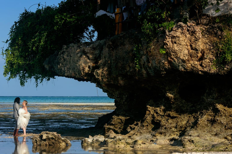 Boda en la playa zanzibar