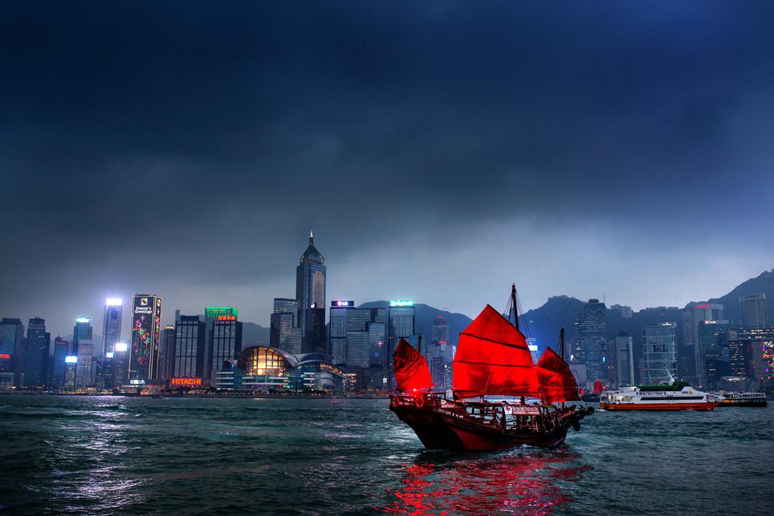 Boda en Hong Kong
