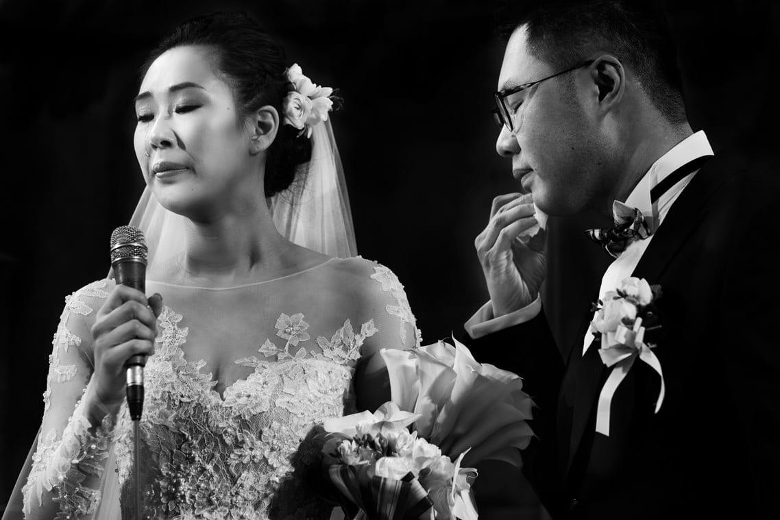 emociones en la boda