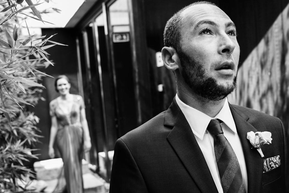 First look en la boda