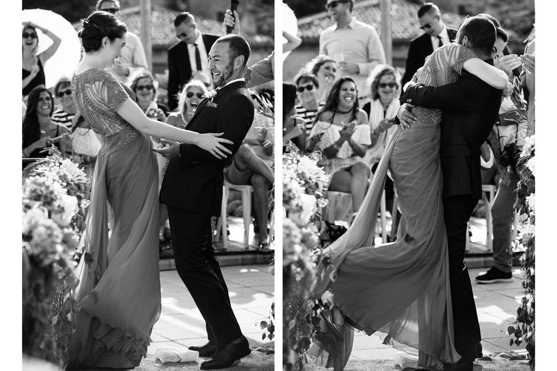 momentos únicos en la boda