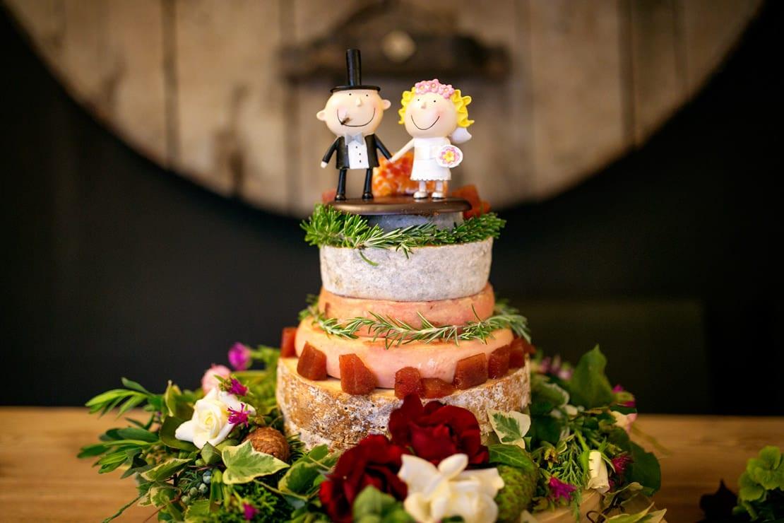 tarta de boda bonita y muy original