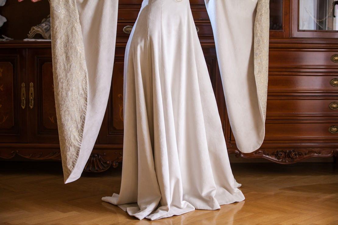 El vestido de novia medieval