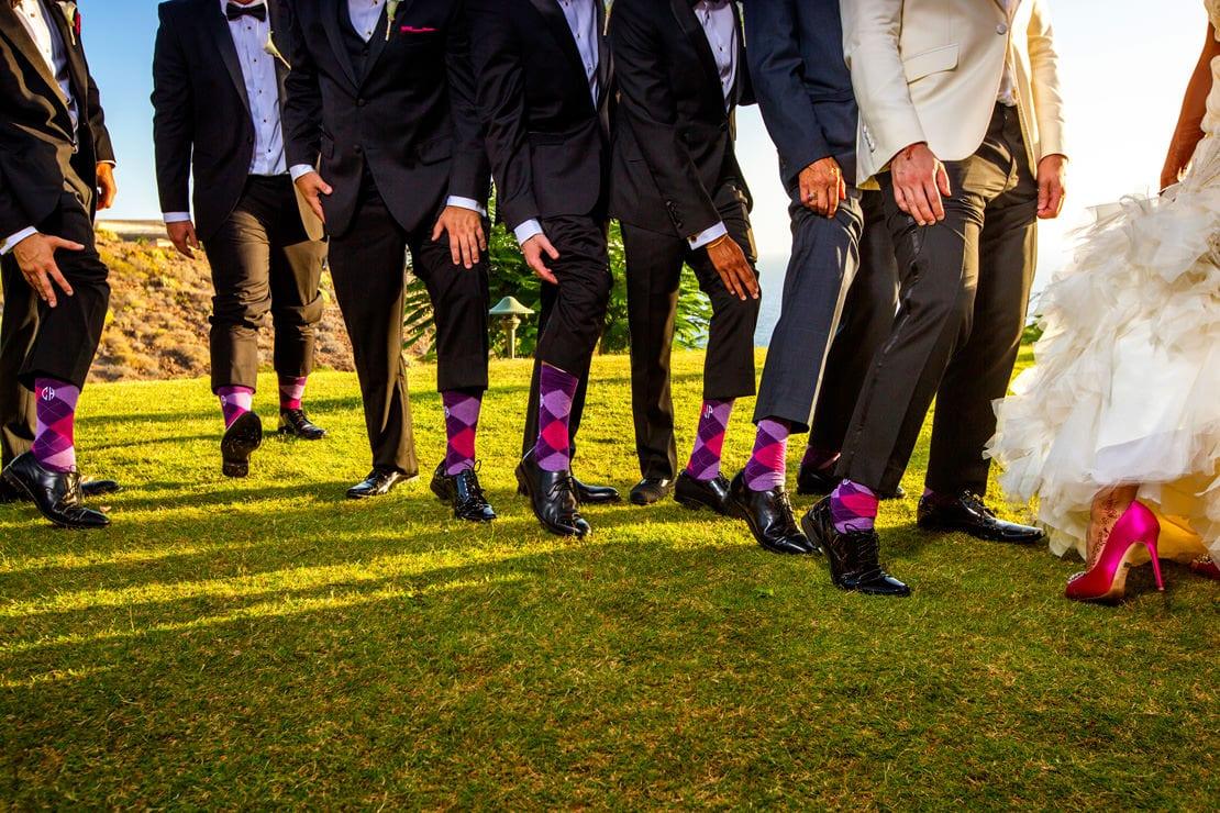 detalles calcetines para el novio