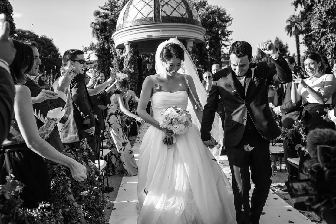 ceremonia de boda en exterior