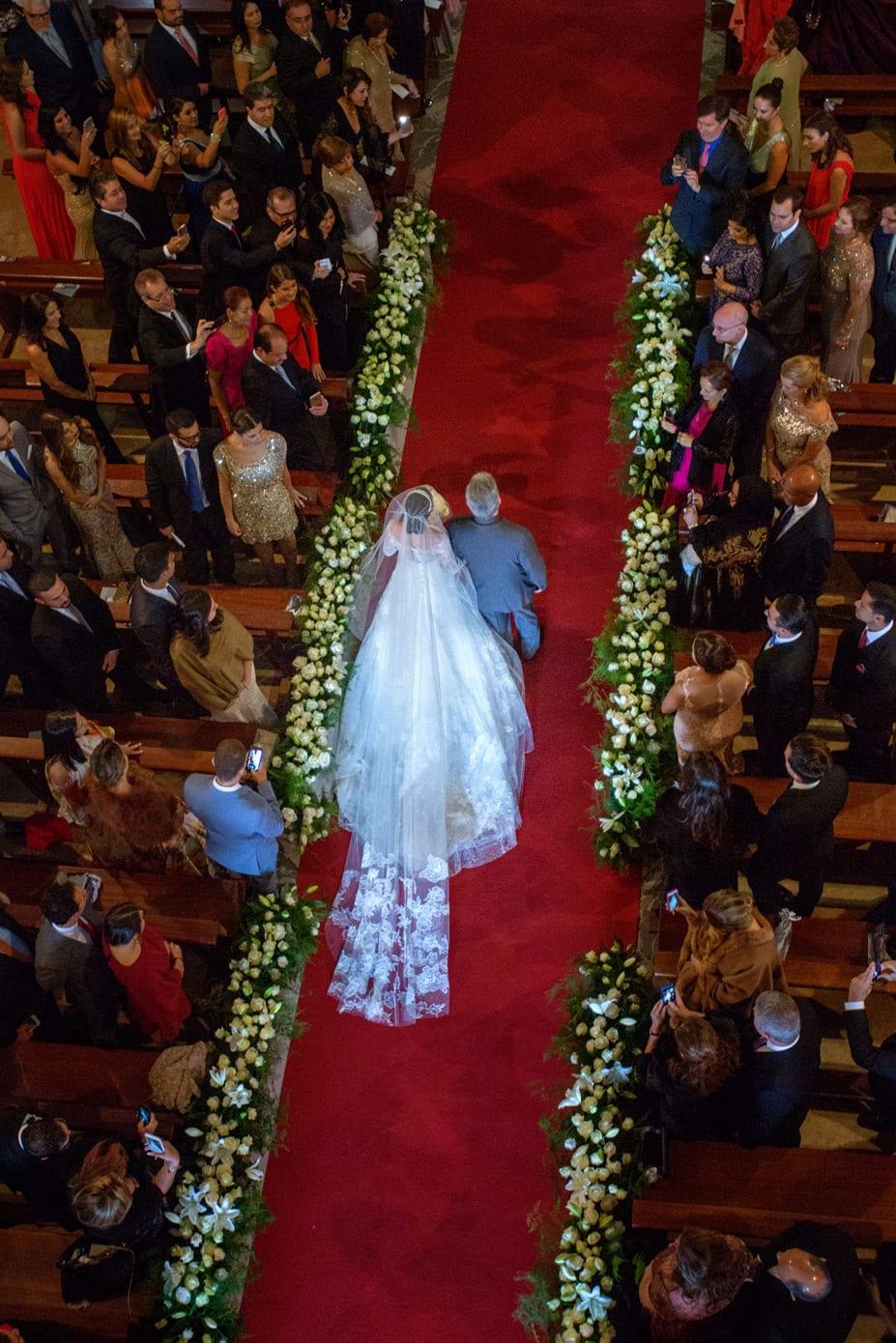 vestido de novia de Vera Wang