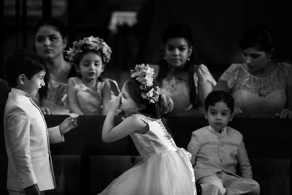 Niños en las bodas, pajecillos