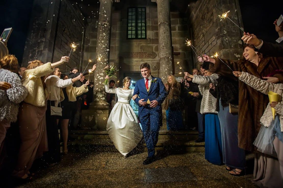 boda de noche, vengalas, fotografo de boda galicia