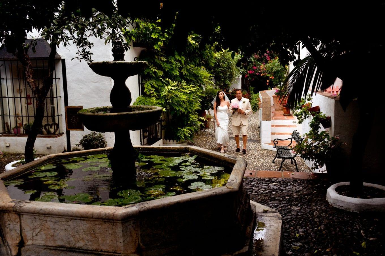 Llegada de la novia, Marbella