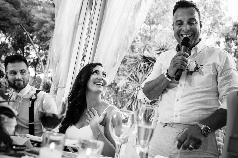 discurso en la boda