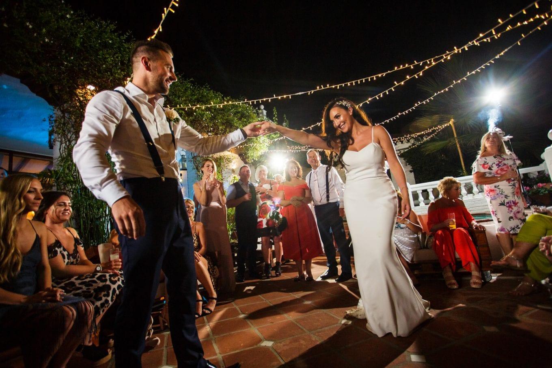 Baile de novios, primer baile, Marbella