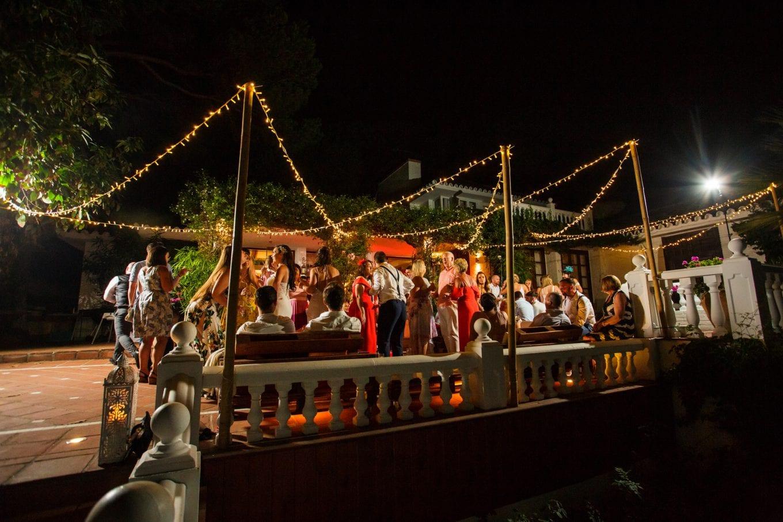 Celebración de boda en Marbella, villa privada