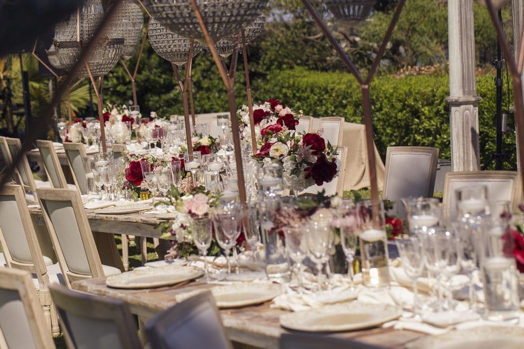 decoración boda judía