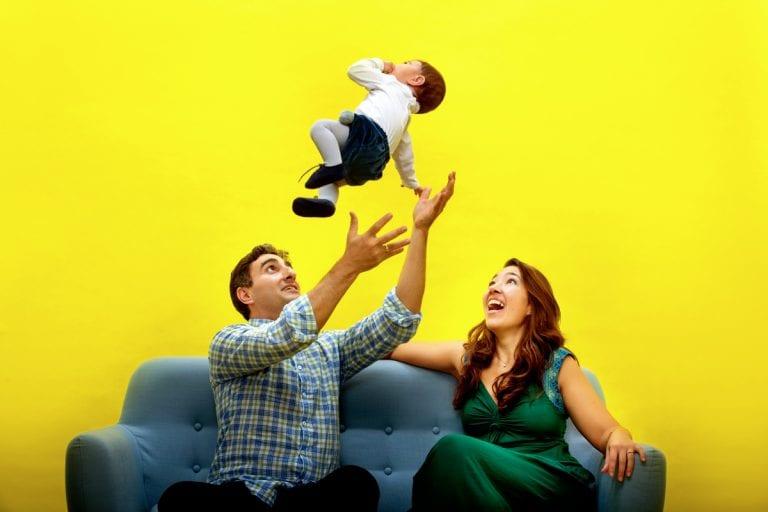 Sesiones de fotos divertidas con niños