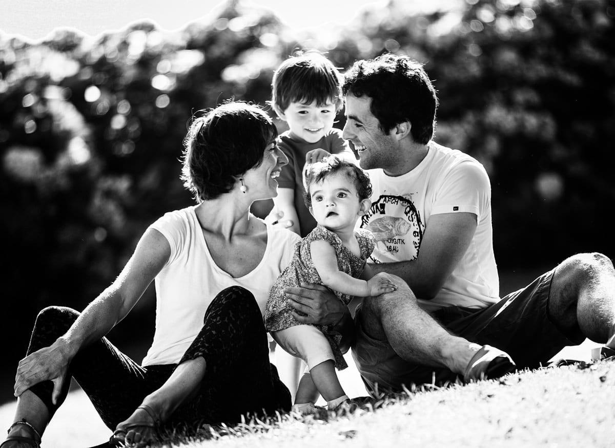Fotografía de familia para regalar el día de la madre