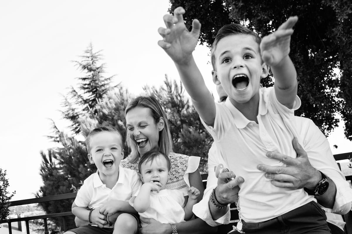 Fotografía en Familia divertida